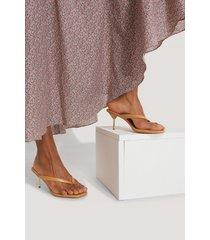 na-kd shoes sandaler - brown