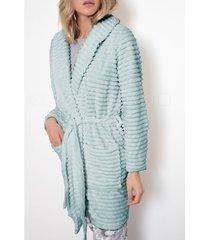 pyjama's / nachthemden admas kleedjurk winter paisley