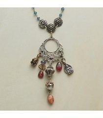 indigo charmer necklace
