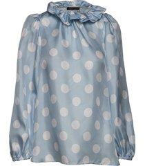 billi blouse lange mouwen blauw stella nova