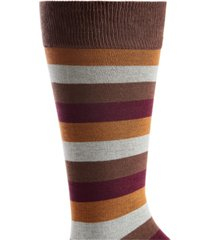 bar iii men's stripe socks, created for macy's
