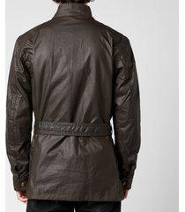 belstaff men's trialmaster jacket - faded olive - it 50/l