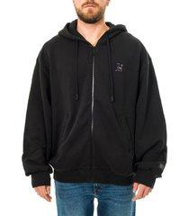 tommy hilfiger felpa uomo tommy jeans lh pcr fleece hooded mw0mw15285.bds