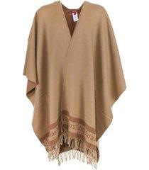 max mara poncho in camel wool