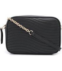 furla swing crossbody bag - black