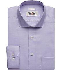 joseph abboud lavender textured dress shirt