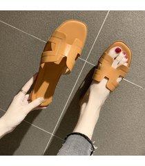 net rojo sandalias planas vacaciones de playa playa zapatillas mujer chanclas