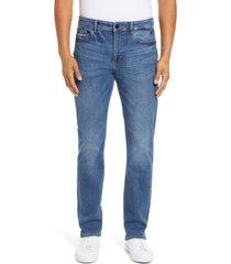 men's dl1961 russell slim straight leg jeans, size 35 x 34 - blue