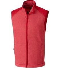 cutter and buck men's big and tall cedar park full zip vest