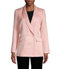 grace boyfriend fit suit jacket
