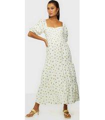 faithfull the brand gianna midi dress maxiklänningar