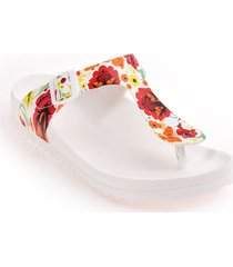 priceshoes sandalia plana dama 922sb401blanco