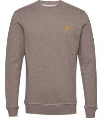 piece sweatshirt sweat-shirt trui bruin les deux