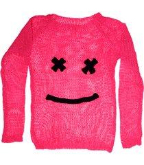 sweater fucsia exótica carita