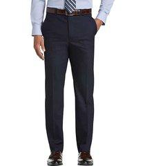 joseph abboud men's modern fit blue tic suit separates dress pants - size: 36