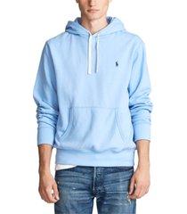 polo ralph lauren men's cotton-blend fleece hoodie