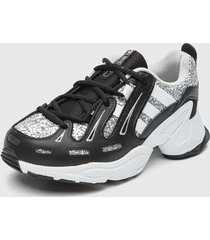 zapatilla urbana eqt gazelle w blanco/negro adidas originals