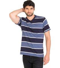 camiseta rayas regular fit línea infinity 95821