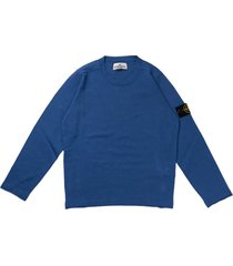 stone island pervinca round neck cotton sweater