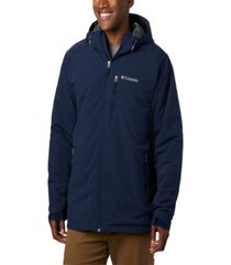 columbia men's big and tall gate racer softshell coat