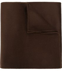 totême cashmere-wool scarf - brown
