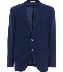 dover micro-textured blazer
