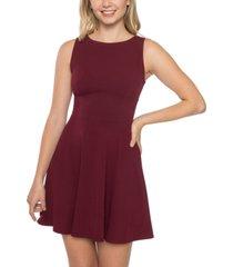 b darlin juniors' bow-back wide-strap dress