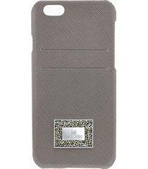 custodia smartphone con bordi protettivi versatile, iphoneâ® 6 plus / 6s plus, grigio