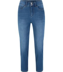 jeans elasticizzato push-up 7/8 dritto (blu) - bpc bonprix collection