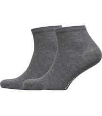th women casual short sock 2p underwear socks regular socks grå tommy hilfiger
