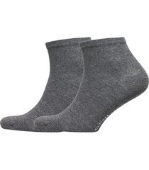 th women casual short sock 2p underwear socks regular socks grå tommy hilfiger