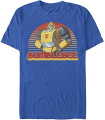 fifth sun men's retro bumblebee short sleeve crew t-shirt