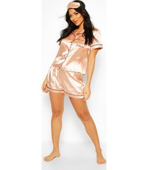 bridesmaid 5pc satin pyjama set