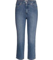the retro raka jeans blå wrangler