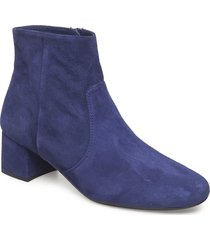 karisi_f18_ks shoes boots ankle boots ankle boots with heel blå unisa