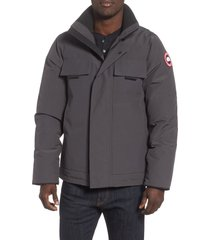 men's canada goose forester slim fit jacket, size xx-large - grey