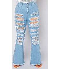 akira plus hotel california distressed flare jeans