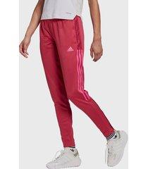 pantalón de buzo adidas performance tiro21 tk pnt w rosa - calce regular