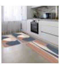 kit tapete de cozinha minimalista único