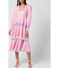 olivia rubin women's sacha dress - pink - us 8/uk 12