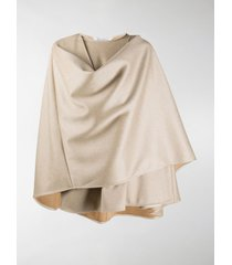 max mara wraparound short cape