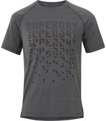 tränings-t-shirt run graphic cooling tee