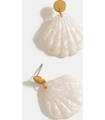ailani shell drop earrings - ivory