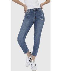 jeans recto destroy denim racaventura