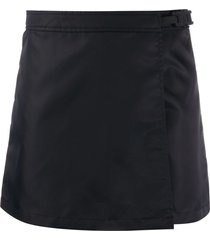 1017 alyx 9sm buckle-fastening wrap skirt - black