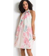 gedessineerde jurk met pailletten