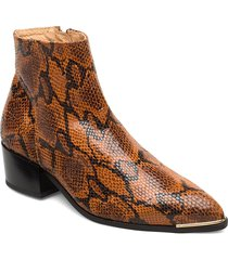sonia shoes boots ankle boots ankle boots with heel brun pavement