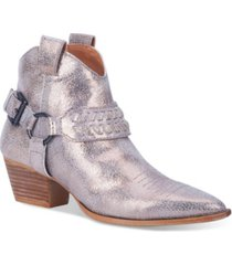 dingo women's keepsake leather bootie women's shoes