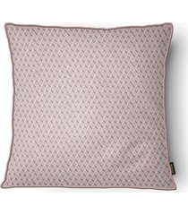 almofada decorativa serenity com cordone 083 50x50cm rose