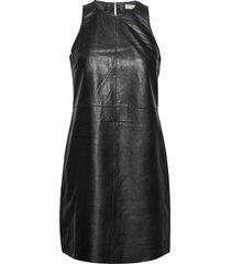 leecy jurk knielengte zwart tiger of sweden jeans